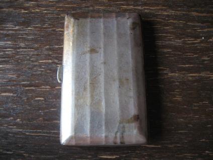 elegantes Art Deco Zigarettenetui Zigarilloetui 800er Silber zierlich für Damen - Vorschau 2