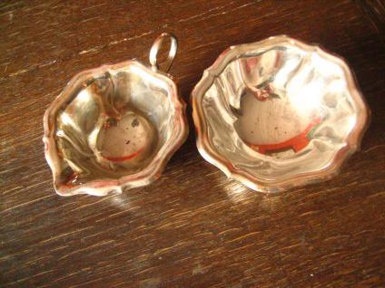 reizendes Milch & Zucker Set Milchkännchen Sahnekännchen Zuckerdose silver pl