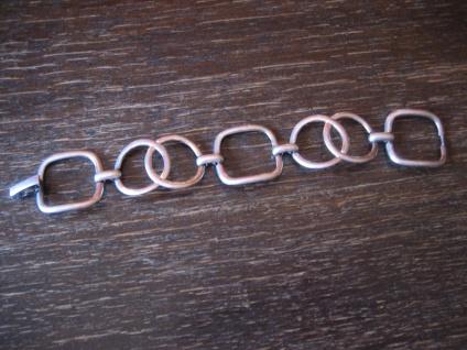 zeitlos elegantes Art Deco Armband 835er Silber 3 cm breit ca. 20, 5 cm lang