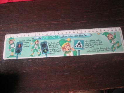 Reklame Werbung Lineal 3 D Effekt Parfenacchio Nystantinchen Lederle Cyanamid