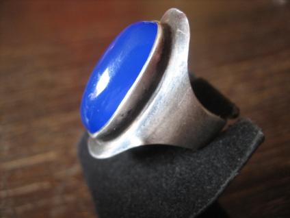 extravaganter vintage Designer Ring 925er Silber Modernist Claus Klinkenheil