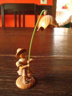 Blumenmädchen Blumenkind Märzenbecher Erzgebirge naturbelassen Platzkartenhalter