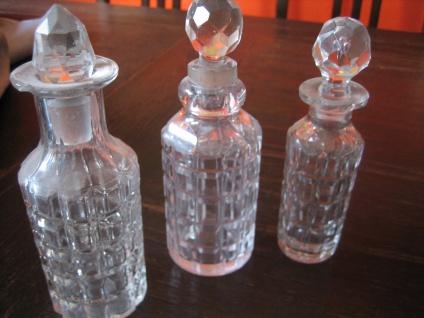 große antike Gewürz Menage Essig Öl Halter für 6 Flaschen silber pl + 3 Flacons - Vorschau 4