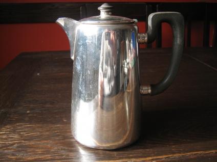 Zeitlos elegante Hotelsilber Teekanne Hot Water Pot silber pl 700 ml Elkington - Vorschau 2