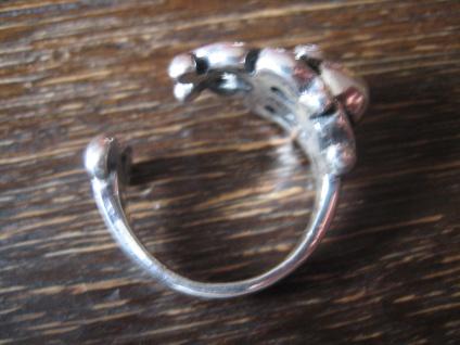 prächtiger maritimer Ring Krake Oktopus Tintenfisch 925er Silber für Piraten - Vorschau 4