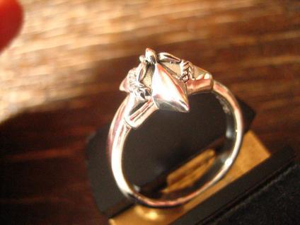 maritimer Herrenring Ring Nautical Star 925er Silber neu et Nox 20, 3 mm RG 64 - Vorschau 2