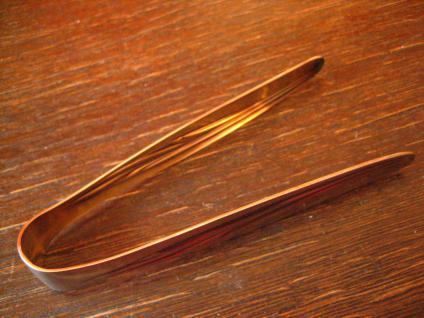 WMF Form 7800 Heidelberg Zuckerzange 90er silber unbenutzt - Vorschau 2