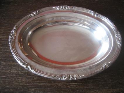 prächtiger großer Tafelaufsatz Silberschale Schale Obstschale silver plated