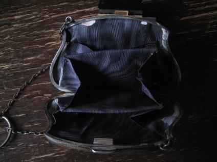 bezaubernde Jugendstil Abendtasche Täschchen Geldbörse 925er Silber England - Vorschau 4