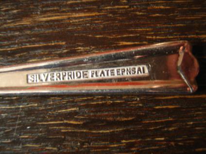 6 elegante Kuchengabeln Kuchengabel kleine Gabel Gabeln Sheffield silver pl EPNS - Vorschau 3