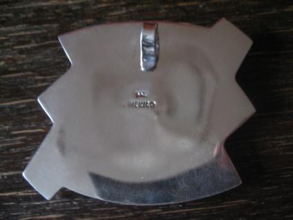 großer skulpturaler Designer Anhänger massiv 925er Silber NEU ideal am Halsreif - Vorschau 3
