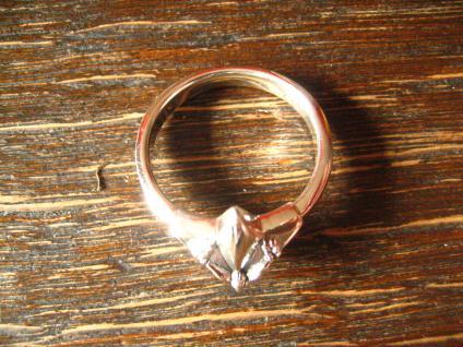 maritimer Herrenring Ring Nautical Star 925er Silber neu et Nox 20, 3 mm RG 64 - Vorschau 4