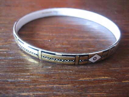 Michaela Frey Designer Armreif Emaille Modernist Vintage enamel bangle 70er Jahr - Vorschau 2