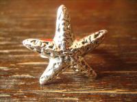 geschmackvoller maritimer Ring Damenring Seestern 925er Silber neu 19 mm RG 60