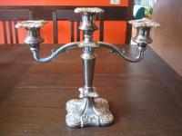 prächtiger Kerzenständer Kerzenhalter Kerzenleuchter Kandelaber PL 3-arm 3armig