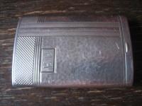 elegantes Art Deco Streichholzetui Etui Streichholzschachtel 800er Silber edel