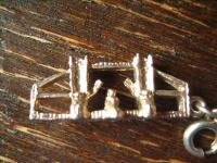 Anhänger Bettelarmband Tower Bridge London Souvenir 925er Silber vollplastisch