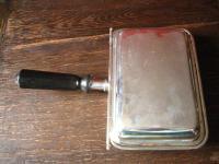 elegante Servierschale Schale mit Haube Griff zum Warmhalten silber pl England