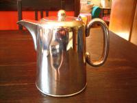 zeitlos elegante Hotelsilber Teekanne Hot Water Pot silber pl Sheffield 700 ml