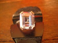 klassisch eleganter Art Deco Ring aquamarin Stein 835er Silber 17, 5 mm RG 55