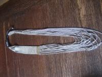 angesagte ultra coole Statement Collier Kette Designer Leonardi Saadia silber