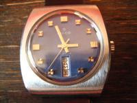 Vintage Herren Lanco Armbanduhr HAU Handaufzug mechanisch Datum 70er Jahre