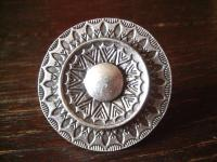 prächtiger Statement Ring Boho Ethno Designer Leonardi Arte silber verstellbar