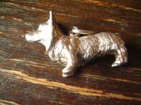 niedlicher Hunde Anhänger Welsh Corgi 925er Silber Hund Charm vollplastisch