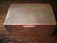 nostalgische Zigarettendose Kästchen silber pl State Express Cigarettes England