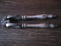 edel und praktisch nostalgischer Nussknacker silber für große und kleine Nüsse