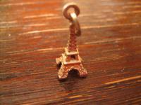 Anhänger Bettelarmband 925er Silber Eiffelturm Tour Eiffel Souvenir aus Paris
