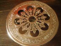 eleganter antiker Tafelaufsatz Untersetzer Speisenwärmer Warmhalteplatte Brenner