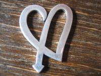 großer aktueller Herz Anhänger romantisch & clean 925er Silber NEU Romantik Pur