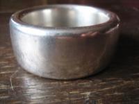 cleaner Vintage Modernist Armreif 925er Silber Solvsmedien i Kolping 150 gr