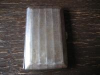 elegantes Art Deco Zigarettenetui Zigarilloetui 800er Silber zierlich für Damen