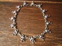 aufregendes schweres vintage Collier 835er Silber BAS Blachian Dirndl Tracht