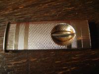 sehr gut erhaltener vintage Zigarrenabschneider Cutter für Tasche schön verziert