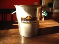 original Pommery & Greno Champagner Kübel Sektkübel Werbung Reklame Champagner