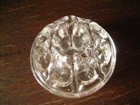 kleine Rosenkugel Glas Kugel zum Blumenstecken Gesteck Tischgesteck Steckkugel