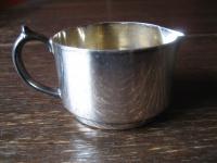 putziges Hotelsilber Milchkännchen Sahnegießer Silberkännchen silber pl England