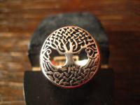 edler Lebensbaum Ring Yggdrasil Weltenbaum 925er Silber neu et Nox RG 62 Celtic