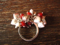 vintage Designer Ring 925er Silber Herz Liebe Love Amore beweglich atemberaubend