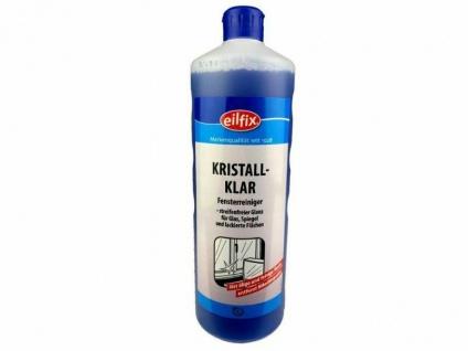 1x Eilfix Kristall Klar 1 Liter Glasreiniger Fensterputzmittel Fensterreiniger