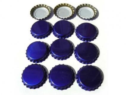 Kronkorken Blau 26mm neu neue Kronenkorken Bier selber brauen Hobbybrauer
