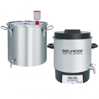 BIELMEIER Set 1 Brauanlage aus Edelstahl zum 20 Liter Bier brauen ArtNr: 403100