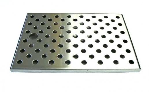 Tropfblech Tropfschale 245 x 170 x 10 mm für Zapfanlage