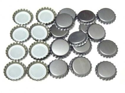 Kronkorken Silber 26mm neu neue Kronenkorken Bier selber brauen Hobbybrauer