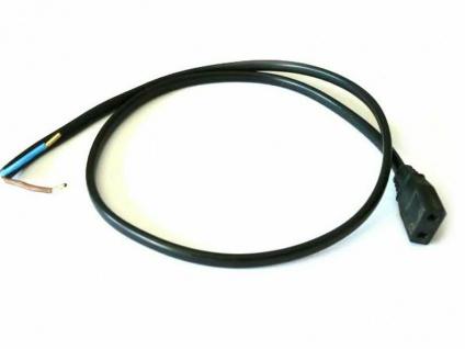 Anschlußkabel für Lüfter Papst 220 Volt Typ 4650 N Kabel Stecker