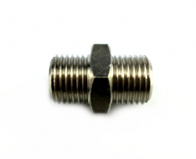 Doppelnippel Doppelverbinder 2x 1/4 Zoll AG Verbinder Zapfanlage Druckminderer