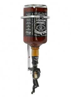 Dosiergerät Spirit-Master 2 cl + 3 Liter Jack Daniels Flaschenhalterung